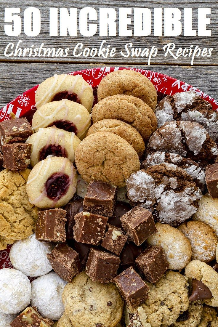 Wow your friends and family this year with these 50 Christmas Cookie Swap Recipes everyone will love! They look incredible, but aren't overly complicated.