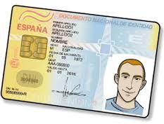 el documento nacional de identidad, DNI