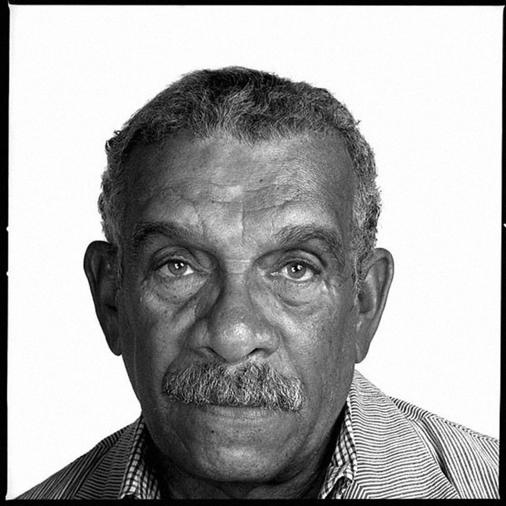 Derek Walcott by Richard Avedon