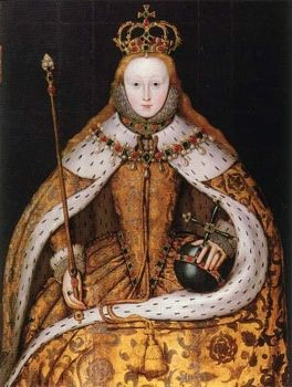 """Elizabeth I was truly the first crowned queen to successfully rule with absolute power. Elizabeth is best remembered for bringing the Renaissance to England. She is also remembered for defeating the Spanish Armada and replacing Roman Catholicism with Protestantism. Elizabeth was the daughter of King Henry VIII and his second wife, Anne Boleyn and she ruled from 1558 until her death in 1603. She was last monarch of the Tudor Dynasty and her reign is known as the """"Elizabethan Era."""""""