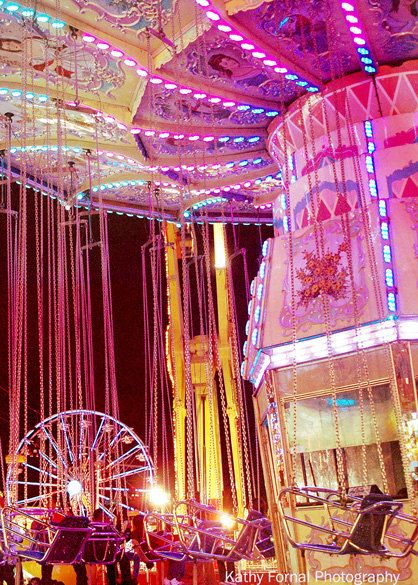 Carnival Ferris Wheel - Kathy Fornal photography (art for kids' play room)