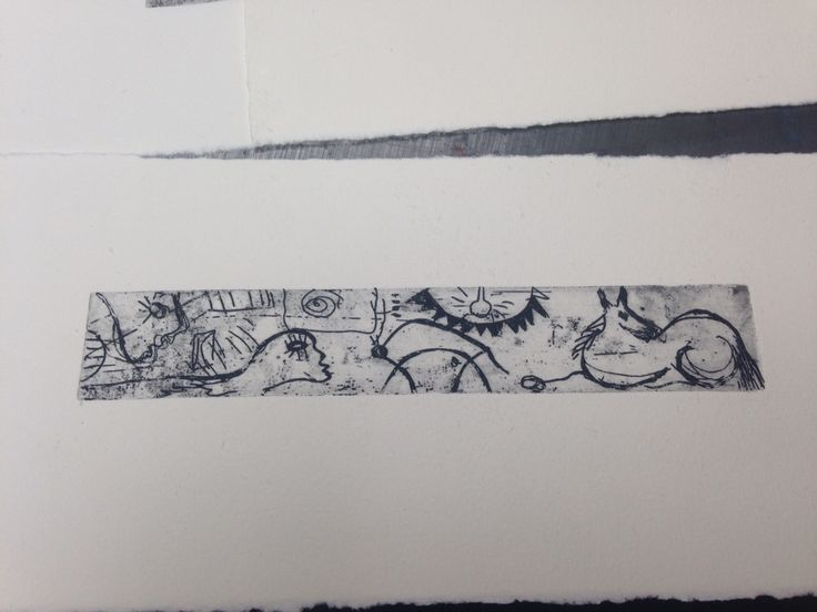 Etching from Picasso Cuff