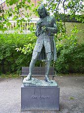Carl Linnaeus - at Lund University, Lund, Sweden such a beautiful city! both artist and scientist