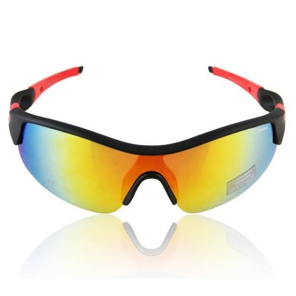 Óculos MASCULINO SPORT-BIKE com lentes UV400 polarizadas Moda Esportes Radicais Exclusivos para homens que vivem a procura para superar seus limites uma armação desenvolvida para a prática de esportes ao ar livre com inspiração no biker (Sport-biker), esporte praticado pelos clistas. Seus benefícios são proteger os olhos dos raios UV emitidos pelo sol e vestir no rosto com a exatidão necessária para não sair do rosto mesmo com movimentos bruscos. Produto Importado.