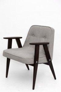 fotel odnowiony design lata 60 Chierowski domove love