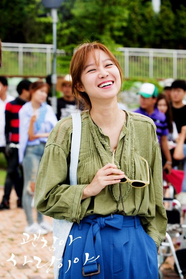 It's Okay ,That's Love ♡ #Kdrama --- Gong Hyo Jin - Now this is a good actress. She makes all her characters hers. I always look forward to her acting. She is wonderful and so talented!!