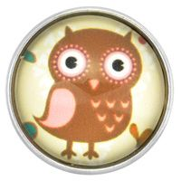 Retro Owl Glass Nugz