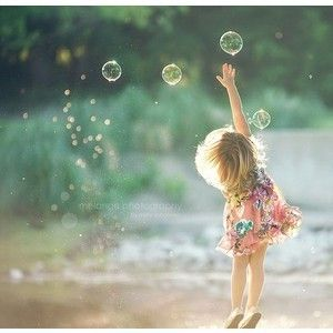chasing bubbles...  chasing dreams ...