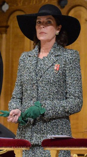 Princess Caroline, Nov. 19, 2011 | The Royal Hats Blog