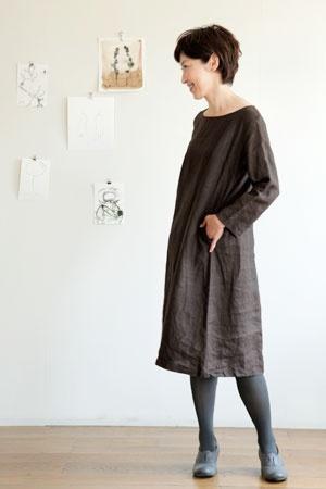 fog linen work フォグリネンワーク スーキー ロングTシャツ:ナチュラル服 ナチュラルファッション レディースファッション 通販 ア・リーフファクトリー