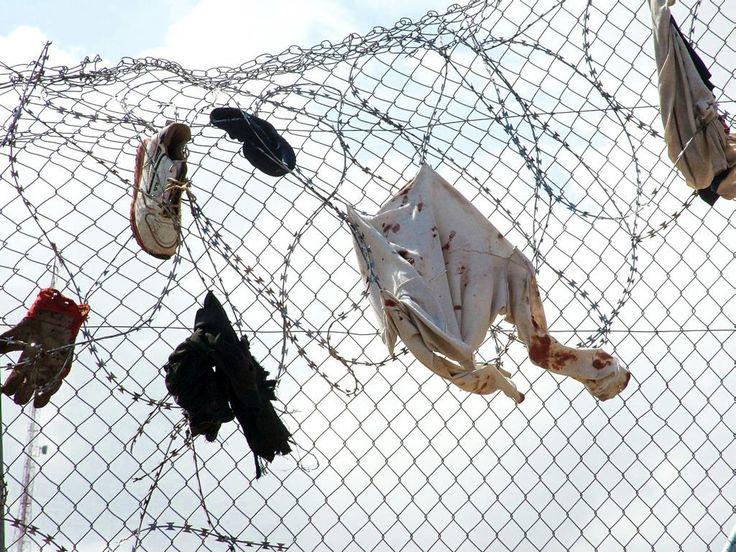 Alambradas, Europa, inmigrantes, Melilla, Ceuta, Concertinas, Por los Derechos Humanos en la Frontera Sur