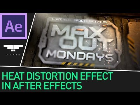 Heat Wave & Distortion Effects in After Effects - YouTube