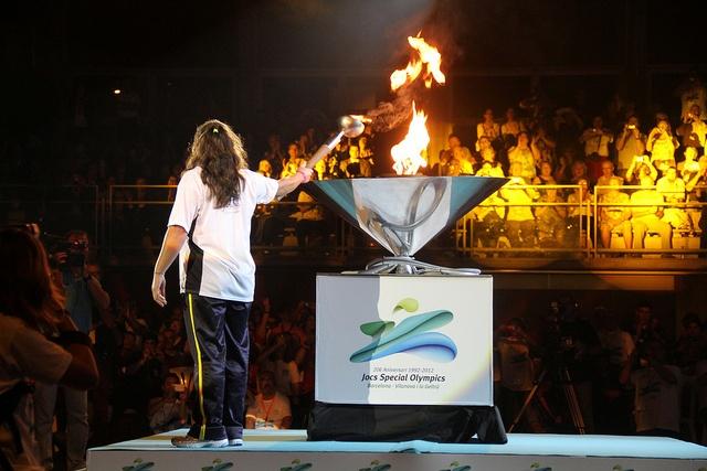 Inauguració dels jocs Special Olympics by Vilanova i la Geltrú, via Flickr