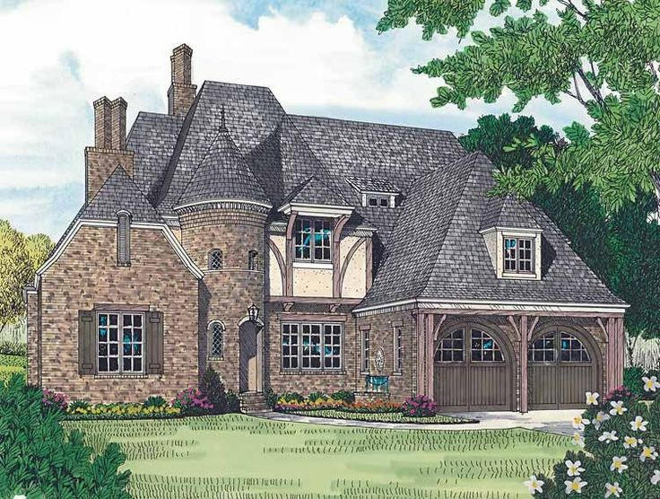 eplans french country house plan maison fantastique