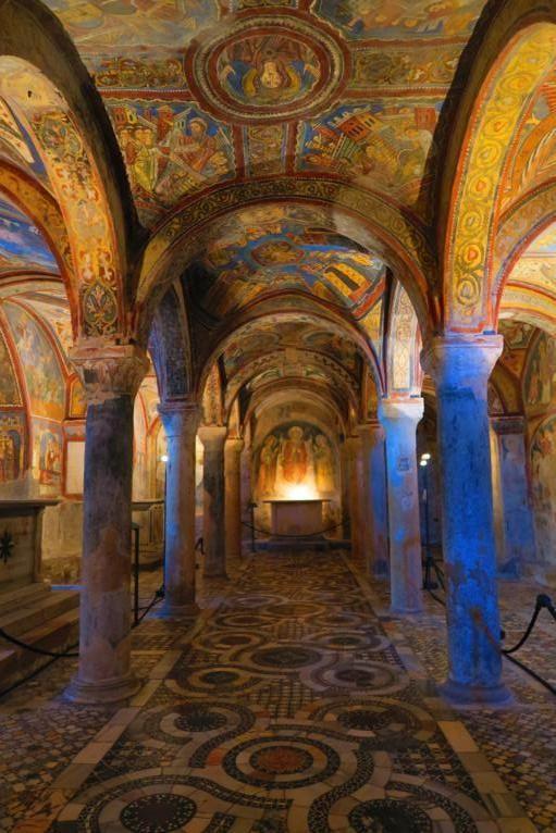 La splendida Cripta della Cattedrale di Anagni http://blog.zingarate.com/mondovagando/anagni-fiuggi/