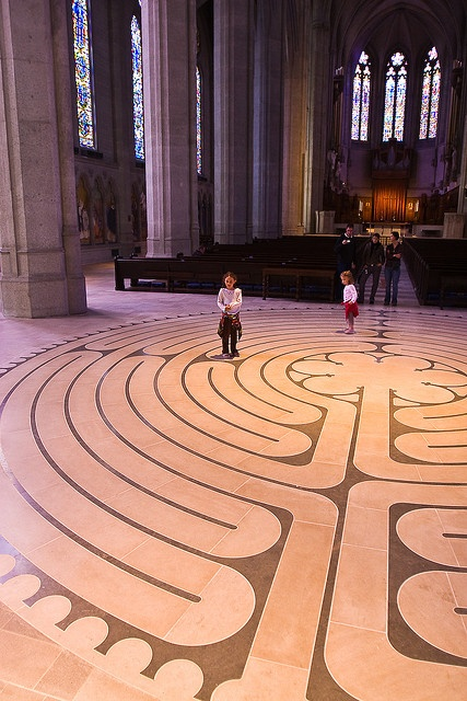 Grace Cathedral--I've walked this. It's an amazing experience!