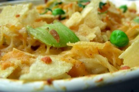 Cheesy Chicken Spaghetti from Food.com:   This is a yummy comforting main dish!
