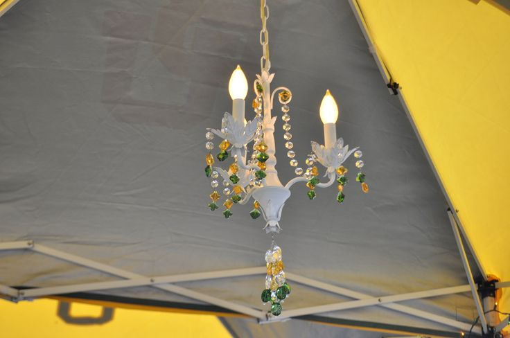 For a formal #Baylor tailgate, we like to provide proper lighting. #SicEm: Sicem