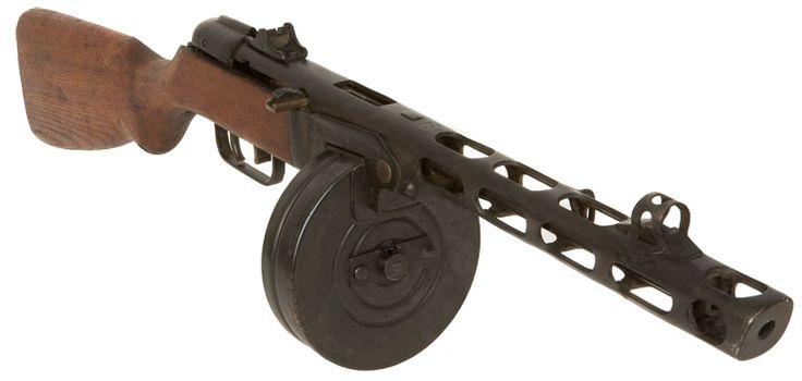 ppsh sub machine gun