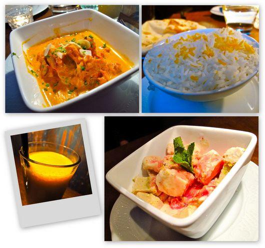 Marcel, restaurant indien au canal St Martin (Paris 11e - photo Aude Baron)