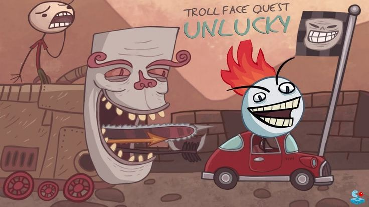 Troll Face Quest Unlucky - ALL WINS - Walkthrough All Levels !!!!