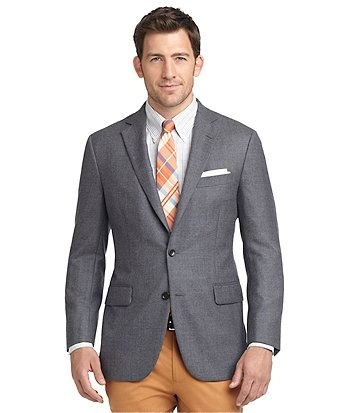 Madison Fit Solid Wool Sport Coat from brooks brothers