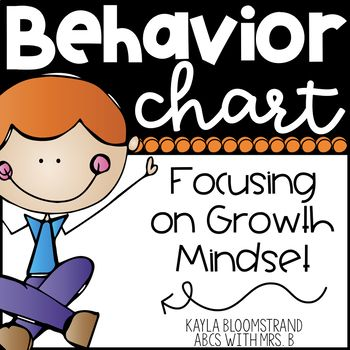 I have revised the traditional clip-up/clip-down behavior chart with effort phrases based off of growth mindset. Students still move up and down the chart with clips throughout the day, but the focus is more on the hard work students are putting forth. 3 designs included!