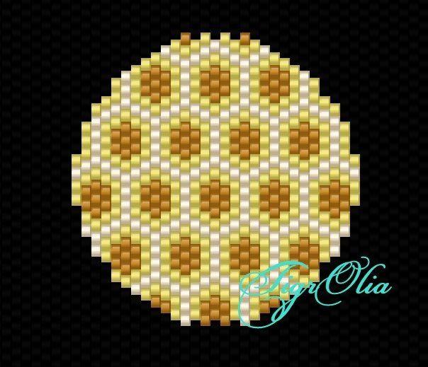 Пчелиные соты: Beads Peyote,