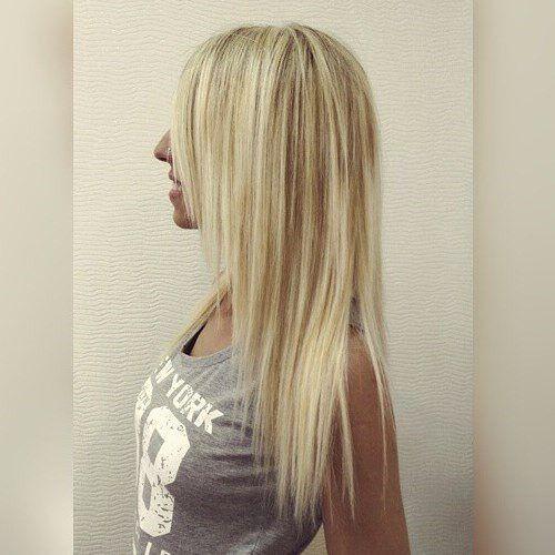 bardzo długie cienkie włosy