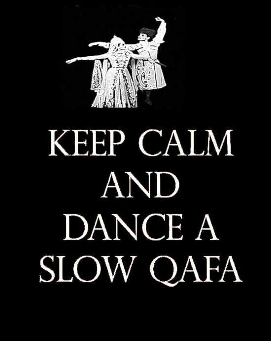 Circassian dance qafa