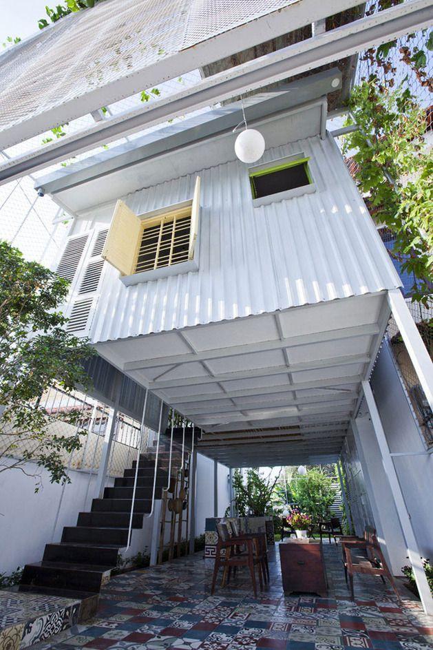 Desain Rumah Tinggal Sederhana Dua Lantai Desain Rumah Kontainer Rumah Arsitektur Arsitektur