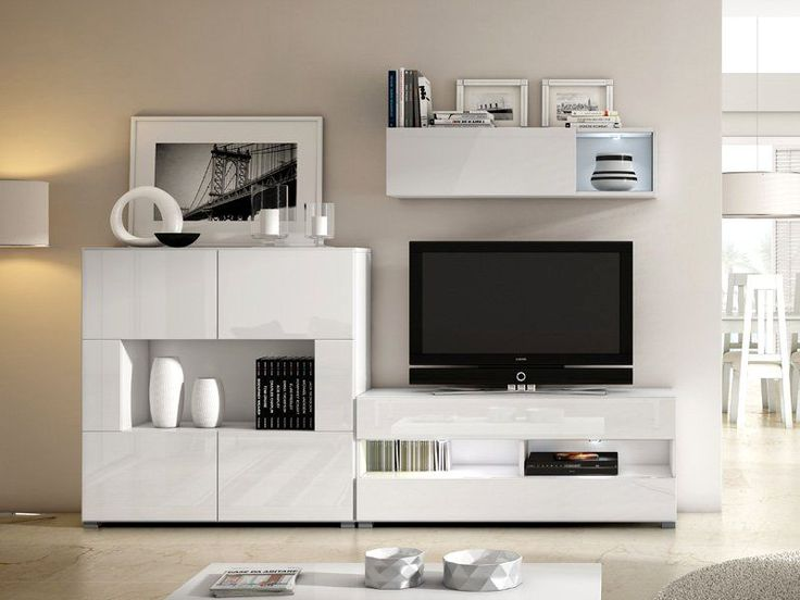 11 best muebles sal n muebles modernos tv images on for Muebles modernos living para tv