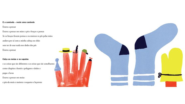 Estava a pensar, text by Sandol Stoddard and illustrations by Ivan Chermayeff, published by Bruaá | Phileas Fogg Agency