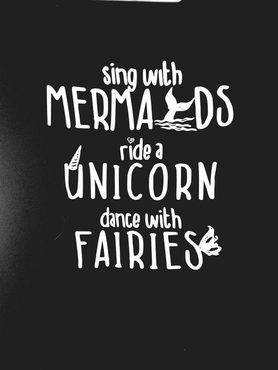 sing with mermaids ride a unicorn shirt