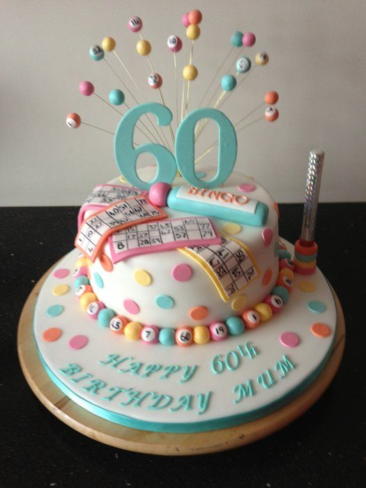 1000 Images About Bingo Cakes On Pinterest Birthday