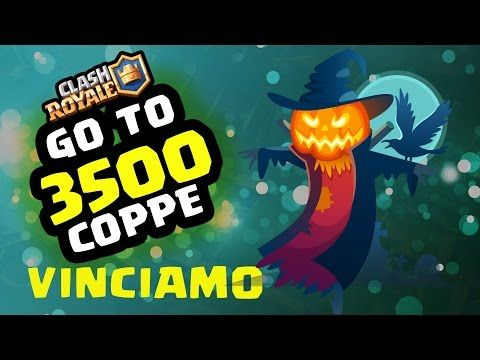 Clash Royale | At about 3500 cups WE WIN! - YouTube