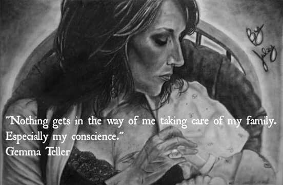 Gemma teller quote / artwork