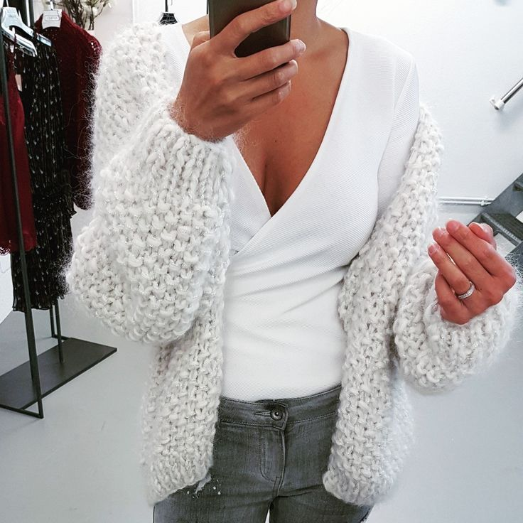 chunky knit sweaters, white sweaters, cardigans, hand knit