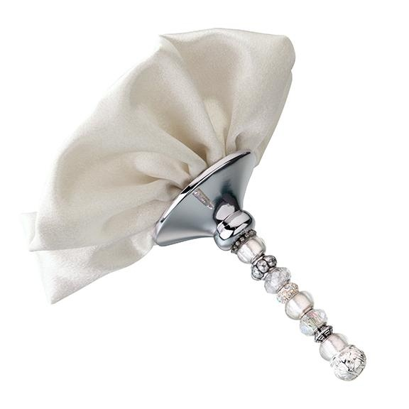 Beaded Bouquet Holder Ivory 710309385271 Dresses Up Your Wedding Day Bridal Customize The Beads To Match Theme
