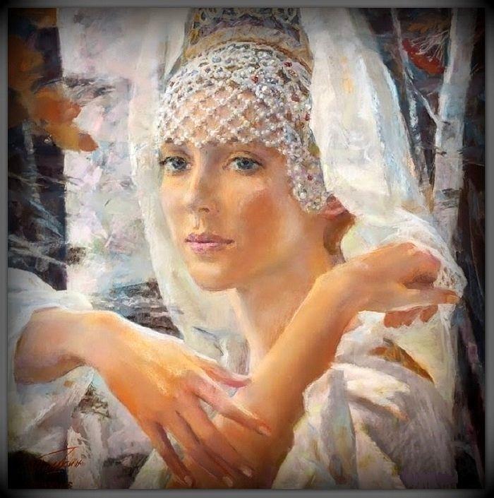 Georgy Shishkin/ Шишкин Георгий Георгиевич (Россия, 1948) «Березы» 1980
