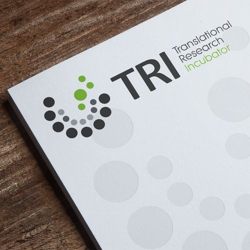 Translational Research Incubator 鈥?20Strong, creative logo for new business incubator