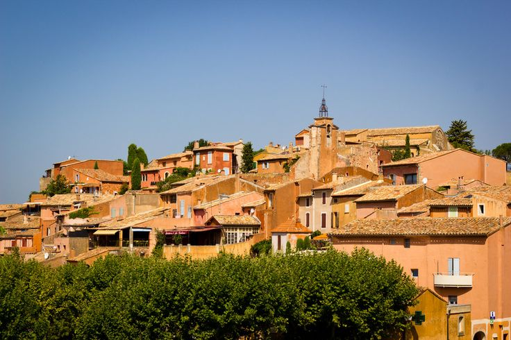 Shades of ochre in Roussillon por Fotopedia Editorial Team