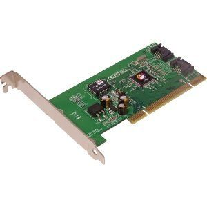 SIIG Serial ATA PCI. SERIAL ATA 2CHANNEL PCI 32BIT 66MHZ ROHS COMP SATA-C. 2 x 7-pin Serial ATA Internal by SIIG INC. $61.95. Standard Warranty: Lifetime Limited - Manufacturer/Supplier: SIIG, Inc Manufacturer Part Number: SC-SAT212-S4 Brand Name: SIIG Marketing Information: SIIG's Serial ATA PCI host adapter is an ideal solution for expanding your SATA storage capacity to your desktop computer. It is designed to add two SATA channels for connecting up to two ad...