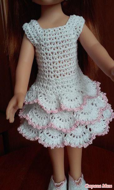 Продолжаю одевать своих куклен)) Недавно поселились у нас три куколки Паола Рейна.