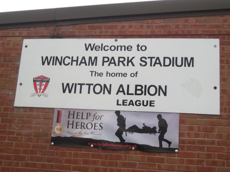 Wincham Park - Witton Albion