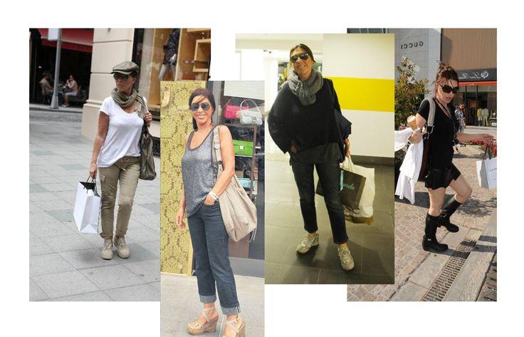 Nebahat Çehre; günlük olarak rahat kıyafetler seçen sanatçı, daha çok gri, siyah ve beyaz tonları tercih ediyor. Bol kesim pantolonlar, şallar ve büyük çantalar tercihleri arasında.