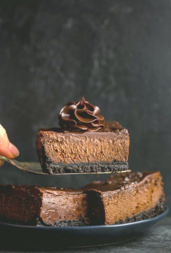 Einfache Schokoladen-Käsekuchen-Riegel  #einfache #SchokoladenKäsekuchenRiegel