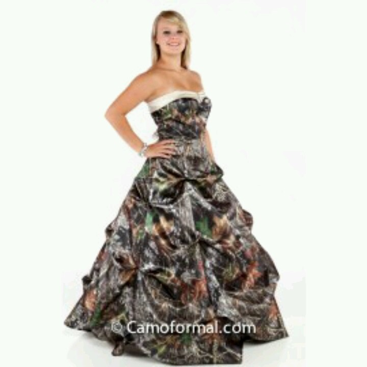 14 best Hick prom images on Pinterest   Bridal dresses, Camo wedding ...