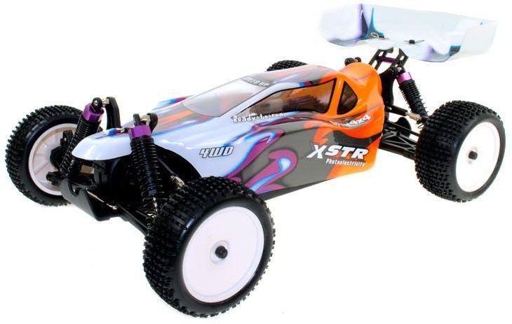 HSP Racing Vortex Power Buggy 4WD - 2.4 GHz ,4WD Allradantrieb