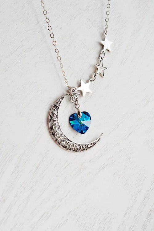 Swarovski necklace | Tumblr